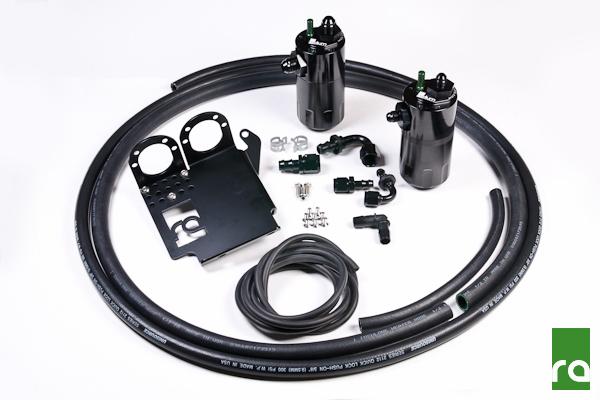 Radium Engineering Oil Catch Can Kit: Honda S2000 2006-09 (LHD), 2000-09 (RHD)