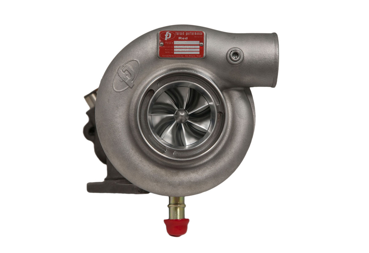"Forced Performance ""RED HTZ"" Journal Bearing Turbocharger : Subaru WRX 2002-07 & STi 2004-18 *SALE*"