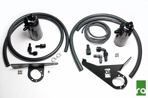 Radium Engineering Oil Catch Can Kit: Honda S2000 2000-05 (LHD)