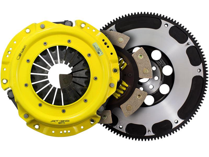 ACT Xtreme Sprung 6-Puck Clutch Kit w/ Streetlite Flywheel (13.4lbs): 13+ Scion FRS & Subaru BRZ 2.0L 6-Speed