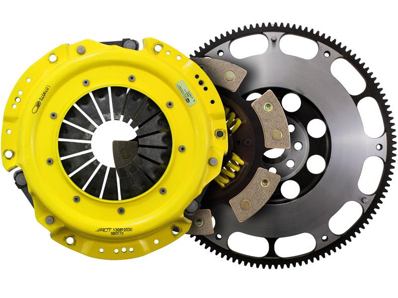ACT Xtreme Sprung 6-Puck Clutch Kit w/ Prolite Flywheel (10.6lbs): 13+ Scion FRS & Subaru BRZ 2.0L 6-Speed
