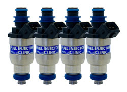 FIC BlueMAX 1800cc Peak and Hold/Low Impedance Ball & Seat Fuel Injectors: Mitsubishi Evolution VIII & IX *NEW RELEASE*