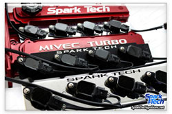 Spark Tech Coil on Plug SEQUENTIAL NON CDI System: Mitsubishi EVO 4-8