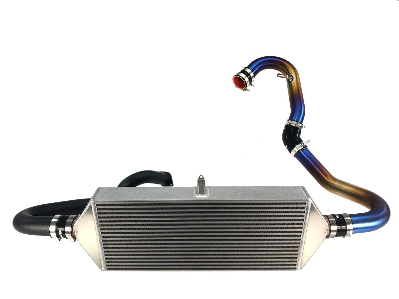 Extreme Turbo Systems Front Mount Intercooler Kit with Titanium Piping: Subaru WRX 2015-18