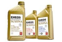 "ENEOS Fully Synthetic ""Sustina"" Premium Motor Oil: 0W20"