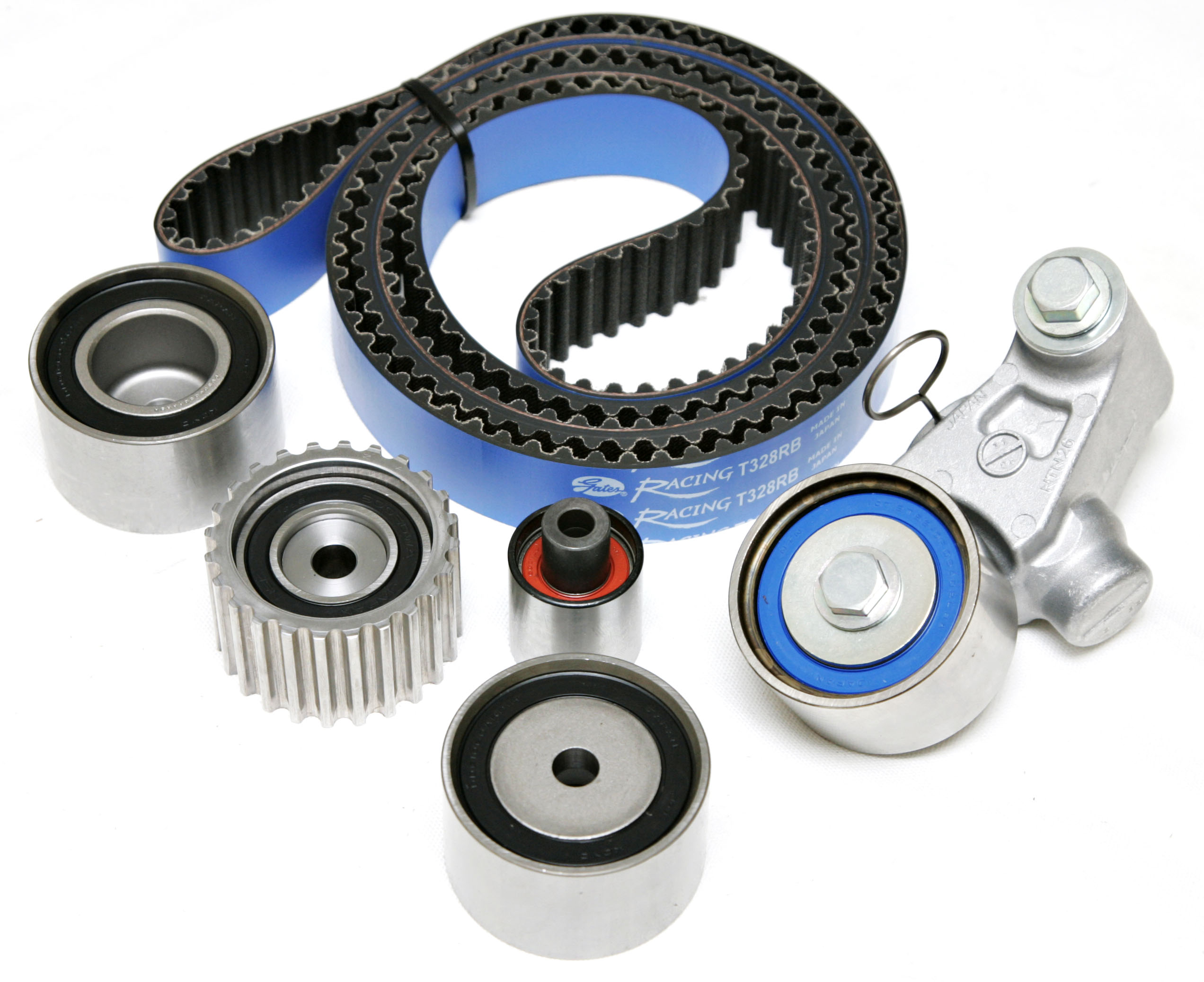 "Gates ""Racing"" Timing Belt Kit (No Water Pump): Subaru WRX/STi EJ20 & EJ25 04-07"