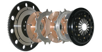 Competition Clutch Twin Disc Clutch Kit : Mitsubishi Eclipse Turbo 6-Bolt AWD *SALE*