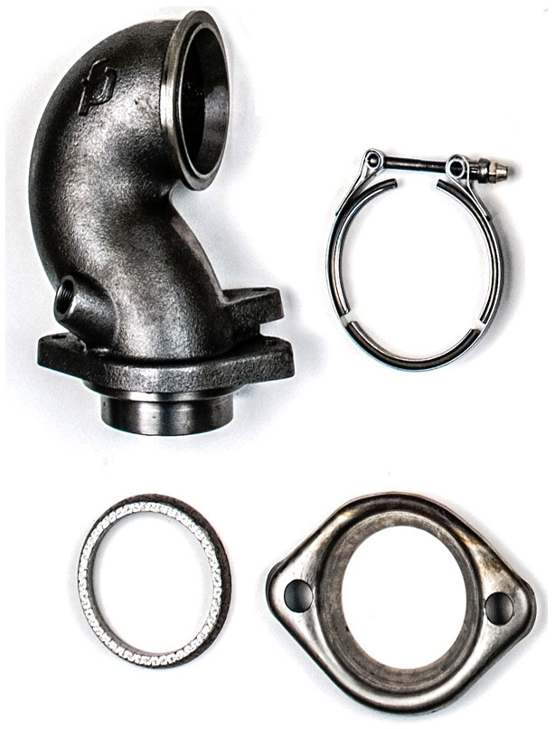 Forced Performance Cast O2 Housing (For use with FP SS Turbine Housing): Mitsubishi Evolution IX