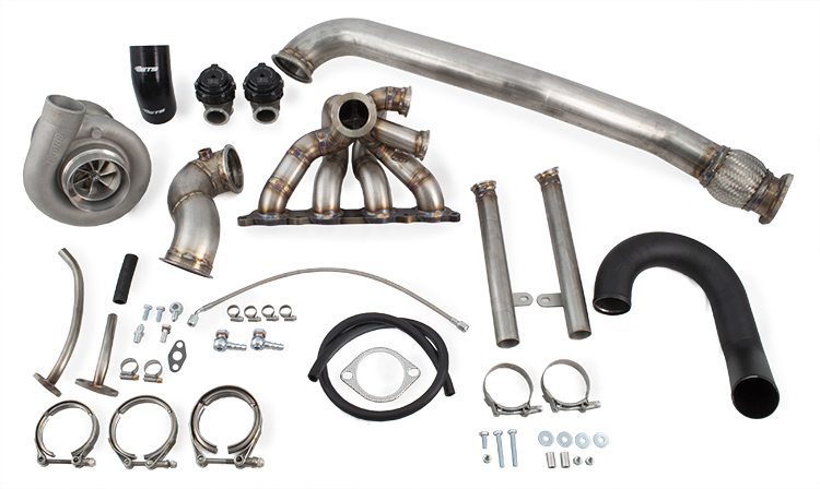 Extreme Turbo Systems Front Facing Turbo Kit : Mitsubishi Evolution VIII & IX 2003-2006
