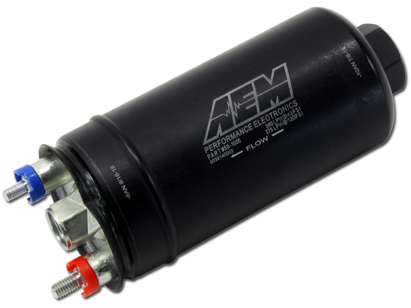 AEM High Flow In-Line Fuel Pump : 380 LPH