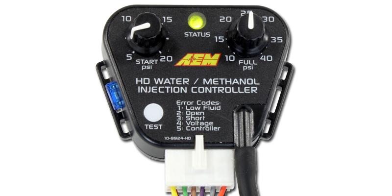 AEM V2 Water/Methanol HD Controller Kit - Internal MAP with 40psi max