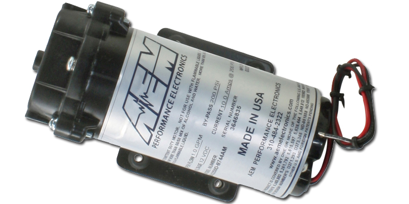 AEM WATER//METHANOL INJECTION 200PSI RECIRCULATION PUMP
