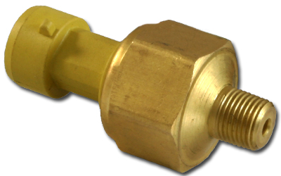 AEM Brass PSIg Sensor: 100 PSIa / 6.5 Bar