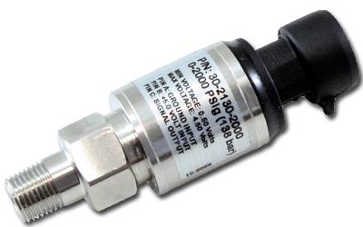 AEM Stainless Steel PSIg Sensor: 2000 PSIg / 139 Bar