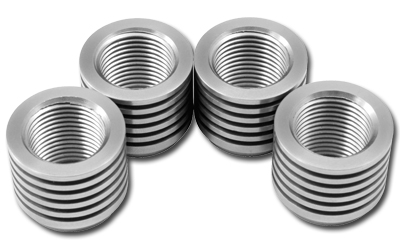 AEM Stainless Steel Tall O2 Sensor Bung - 4 Pack
