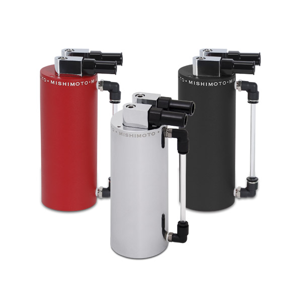Mishimoto Aluminum Oil Catch Can: Small