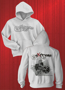Extreme PSI Pull-Over Hoodie ver. 2: Ash Grey CHRA *NEW*