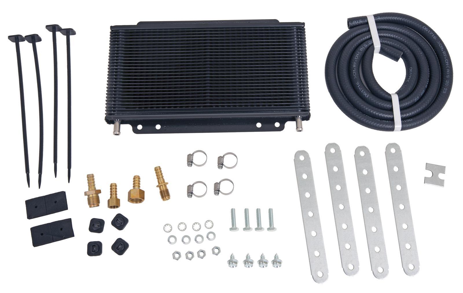 "B & M Supercooler Transmission Cooler Supercooler; 11"" x 5-3/4"" x 3/4""; BTU Rating 9,800 [Universal]"