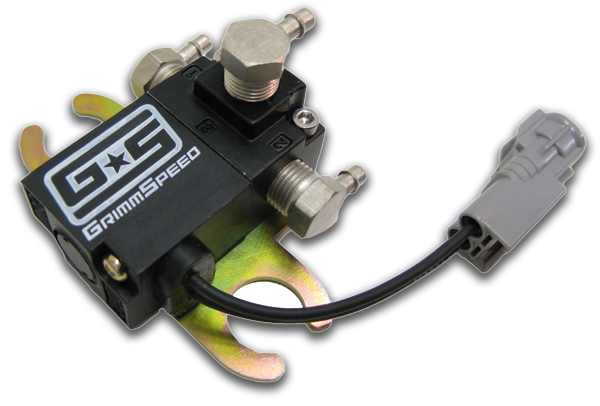 GrimmSpeed Electronic Boost Control Solenoid 3-Port: Subaru WRX/STi