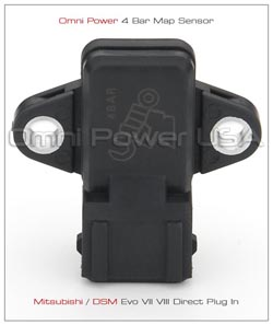 Omni-Power Mitsubishi Universal Map Sensor + GM AIR TEMPERATURE SENSOR: 4 Bar *SALE*