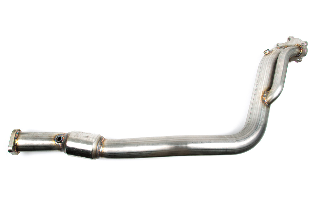 GrimmSpeed Catted Downpipe: Subaru WRX 08-14/STI 08-15