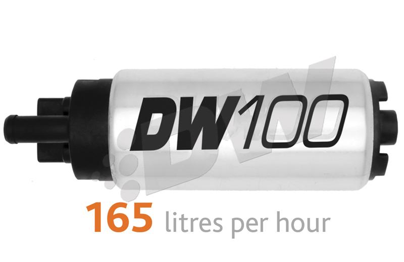 DeatschWerks DW100 165 LPH In-Tank Fuel Pump : Acura Integra 1994-2001 & Honda Civic 1992-2000