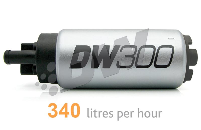 DeatschWerks DW300 340 LPH In-Tank Fuel Pump : Acura Integra 1994-01 & Honda Civic 1992-2000