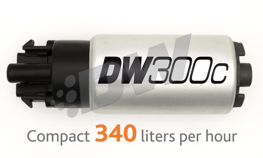 DeatschWerks DW300c 340 LPH Compact In-Tank Fuel Pump : Mitsubishi EVOLUTION X 2008-15