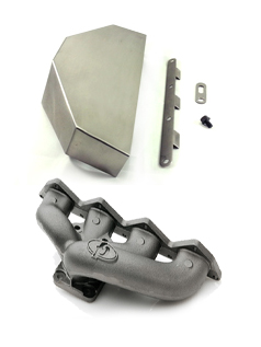 Forced Performance DSM Race Manifold & Heat Shield: Mitsubishi Eclipse 90-99