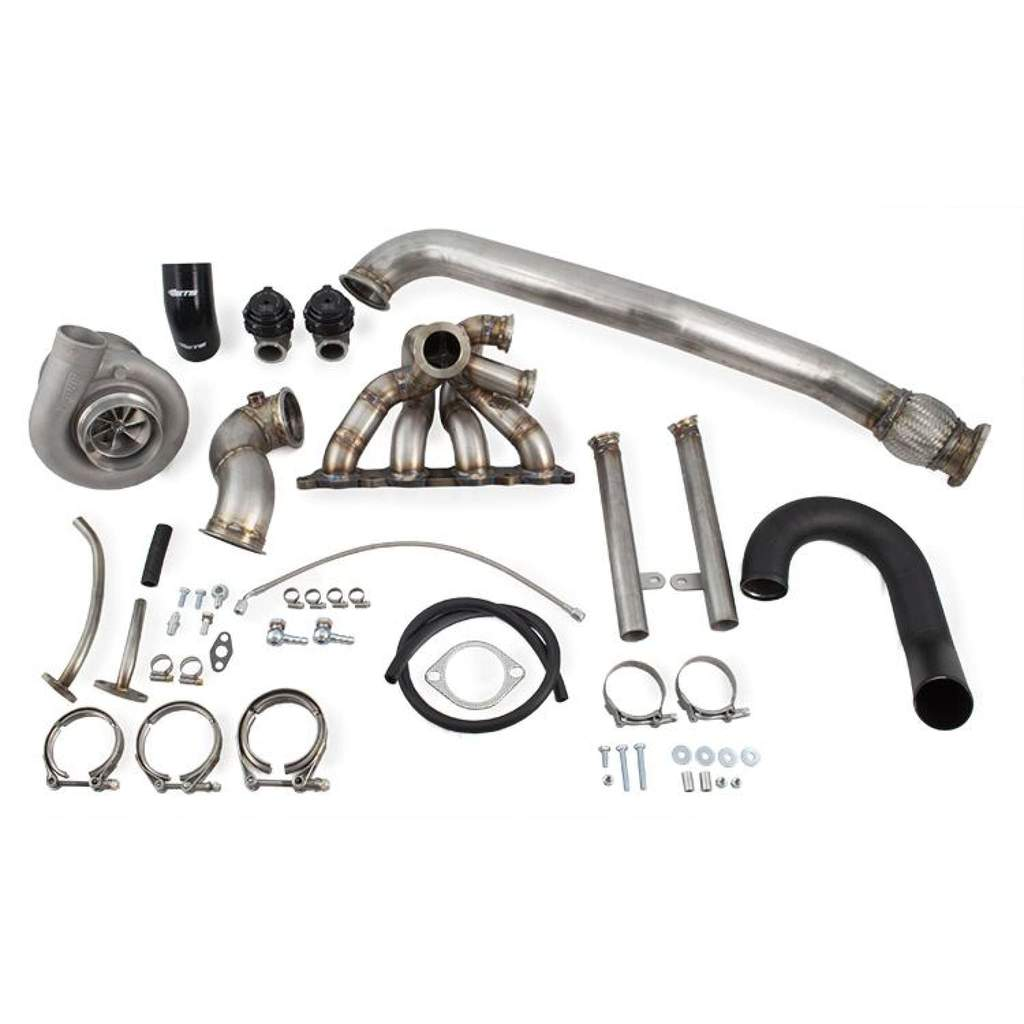 Extreme Turbo Systems Forward Facing Single Scroll Turbo Kit : Mitsubishi Evolution VIII & IX 2003-2006