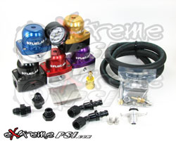 "FueLab ""515"" Complete Fuel Pressure Regulator Kit w/ Gauge: Mitsubishi Lancer EVO VIII & IX"