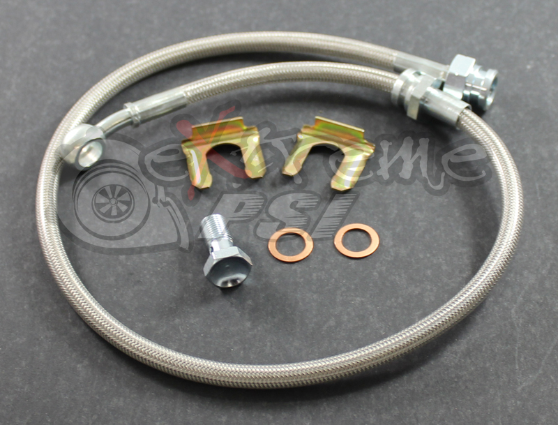 Extreme PSI Complete Clutch Line (Slave to Master Cyl.): Mitsubishi Evolution 8/9