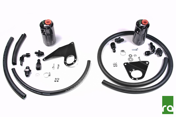Radium Engineering Oil Catch Can Kit: Mitsubishi Evolution X 2008-2015