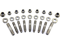 "ARP ""Ver. 2"" Stainless Steel Exhaust Manifold Stud Set (9 Studs): Mitsubishi Eclipse 7-Bolt"