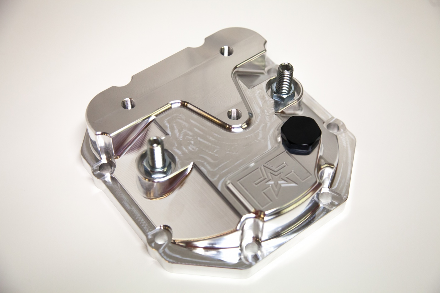 Frontline Fabrication Girdled Rear Differential Cover: Mitsubishi Evolution 1-9