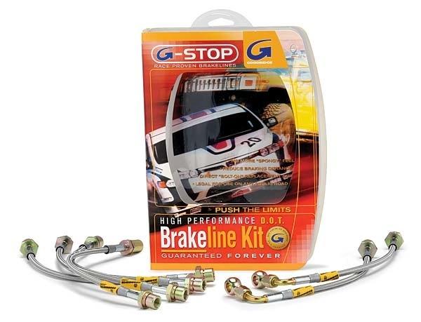 Goodridge Stainless Steel Brake Lines : Subaru STi with Brembo Calibers 2008-14