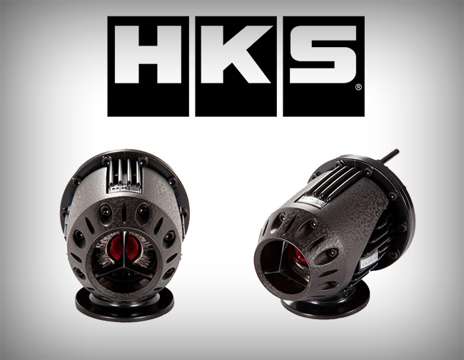 HKS ver.4 SSQV Blowoff Valve: Universal **LIMITED EDITION GUNMETAL**
