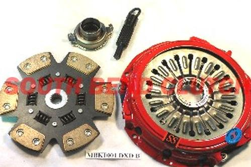 South Bend Clutch Stage 3 Drag Clutch Kit : Mitsubishi Evolution 8 & 9 2003-2006 (700 ft/lbs)