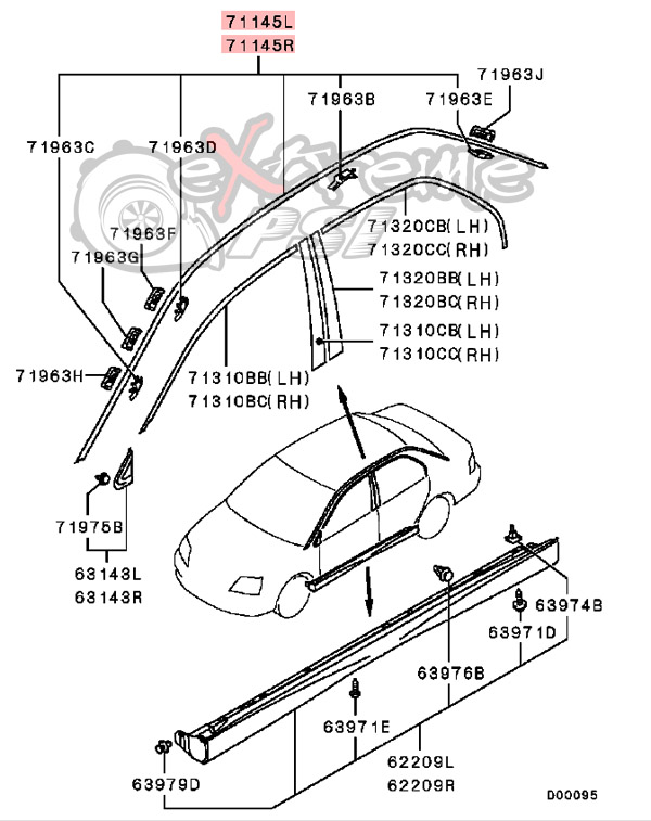mitsubishi lancer 2002 clutch diagram