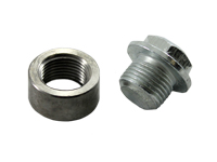Extreme PSI Stainless Steel Weld-on O2 Sensor Bung and Plug Set *NEW*