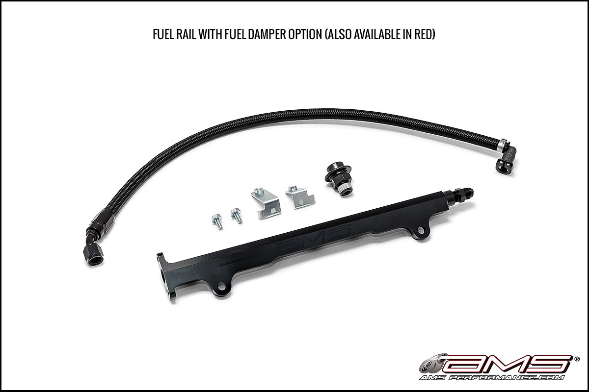 AMS Mitsubishi Lancer Evolution X Fuel Rail Kit (w/ Damper)