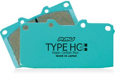 Project Mu Type HC+ Front Brake Pads: Mitsubishi Evolution VIII, IX, X & Subaru STI 2004-2014