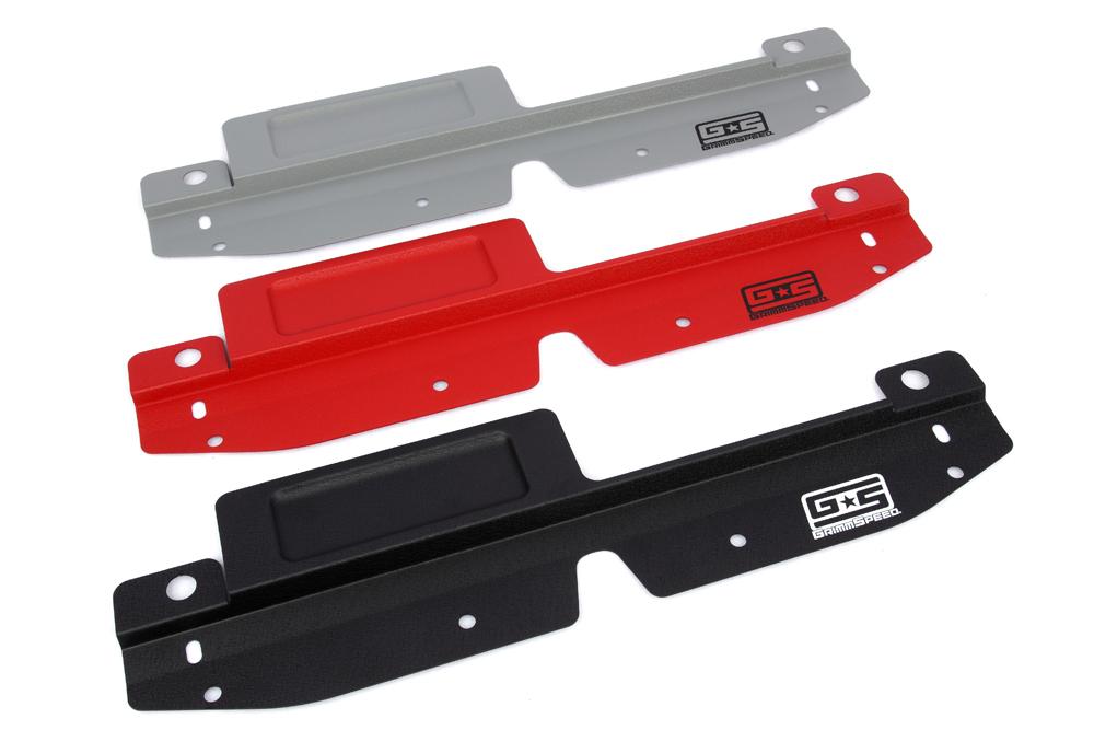 GrimmSpeed Radiator Shroud w/ Tool Tray: Subaru 08-14 Impreza/WRX/STI