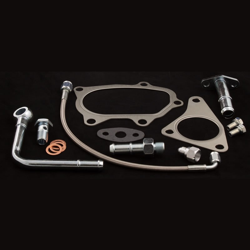 Precision T & E Subaru Upgrade Turbo Installation Kit