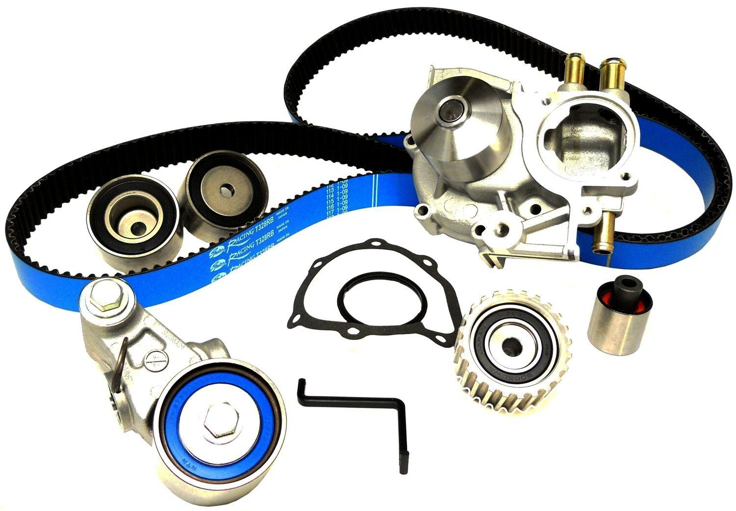 "Gates Complete ""Racing"" Timing Belt Kit (With Water Pump): 08-14 Subaru WRX"