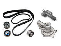 Gates Economy Complete Timing Belt Kit with Water Pump: 90-92 Mitsubishi Eclipse 6-Bolt