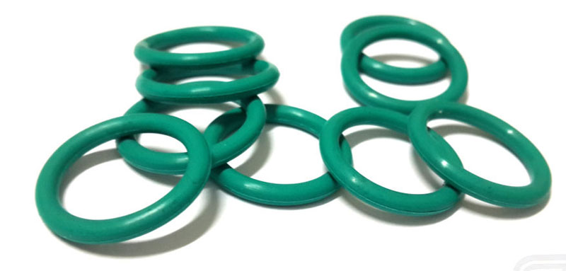 Fuel Injector Viton Upper Injector Seal (14mm OD/3mm Thick): 14mm Green
