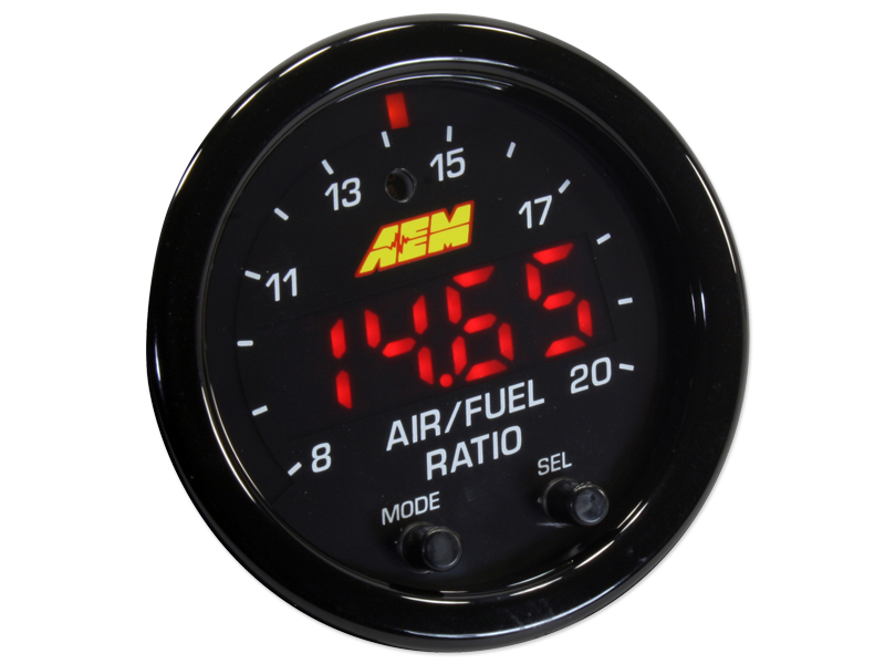 AEM X-Series Wideband UEGO Air/Fuel Ratio Sensor Controller Gauge