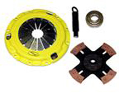 "ACT ""Custom"" Xtreme Solid 4-Puck Clutch Kit : Mitsubishi Eclipse 90-99"