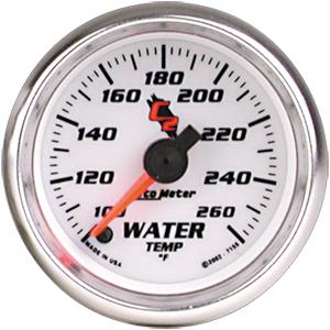 Auto Meter C2 Gauge : Water Temp 100-260 deg. F